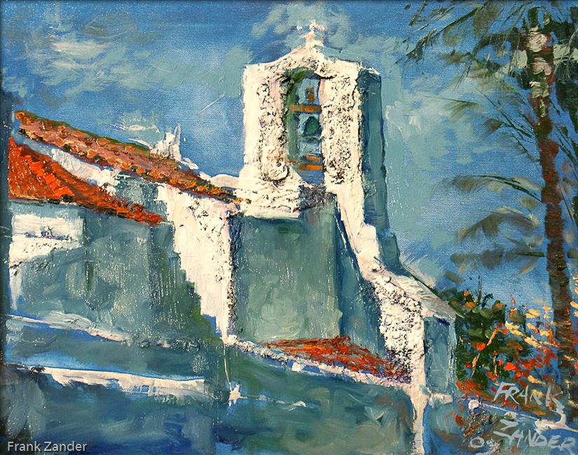 Die Kirche Von San Carlos 40x50cm