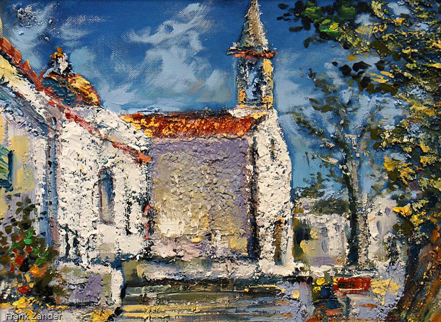 Die Kirche Von San Jose 30x40cm