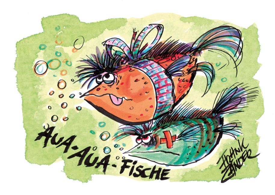 Aua Aua Fische