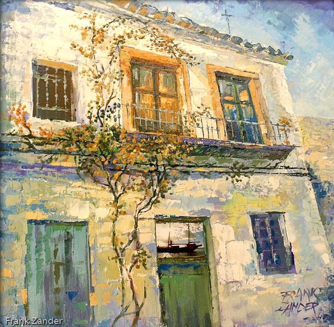 Das Alte Haus 60x60cm