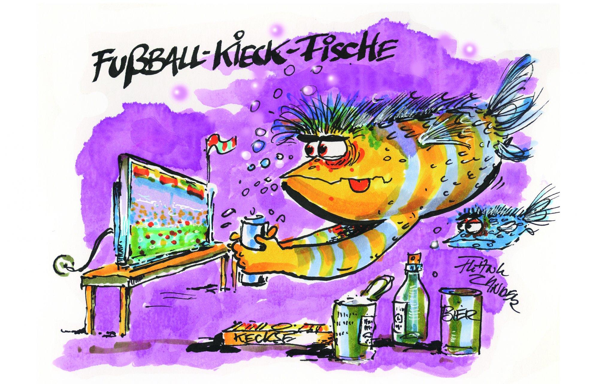 FUßBALL-KIEK-FISCH