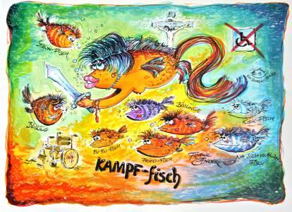 Kampf Fisch