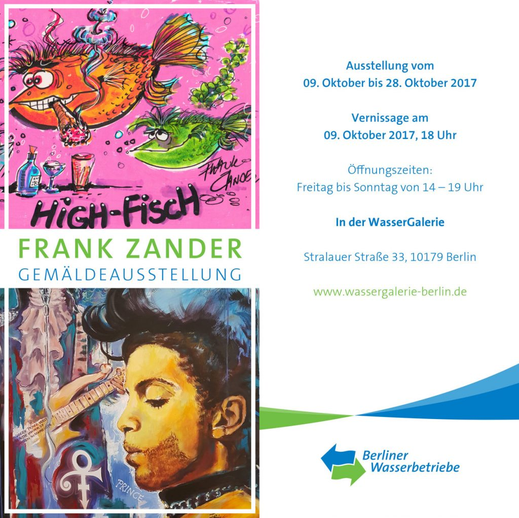Zander Malt Gemäldeausstellung